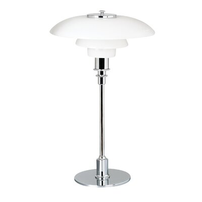 """dCOR design Herlev 18.9"""" H Table Lamp with Bowl Shade"""