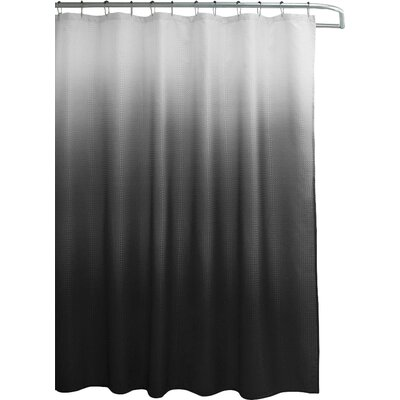 Wicklund 13 Piece Ombre Waffle Weave Shower Curtain Set Color: Gray