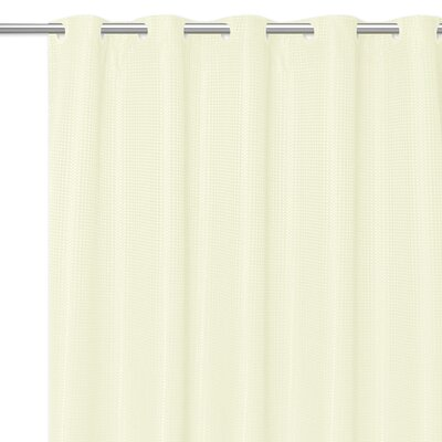 Stamford Polyester Shower Curtain Color: Ivory