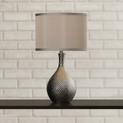 Lamp with Drum Shade