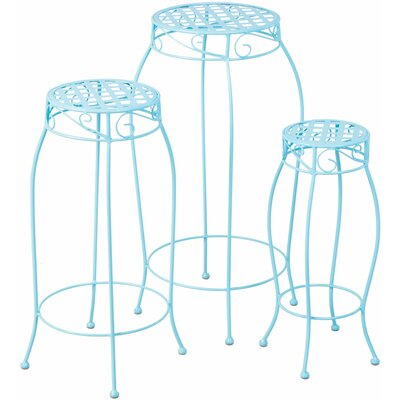 Brondesbury 3 Piece Nesting Plant Stand Set