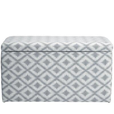 Raelynn Traditional Upholstered Storage Bench