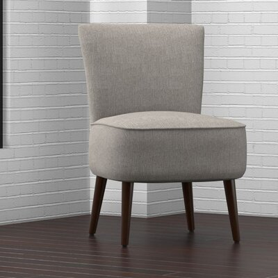 Cureton Blaylock Slipper Chair Upholstery: Dove Gray