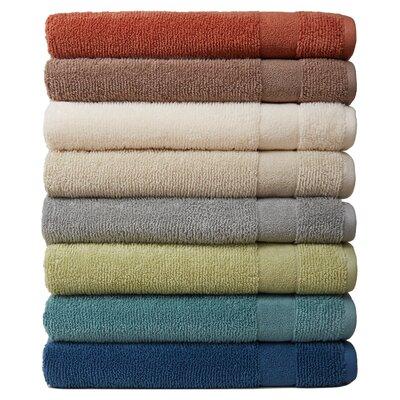Deberry Kushlon 2 Piece Turkish Cotton Bath Towel Set Color: Ink Blue