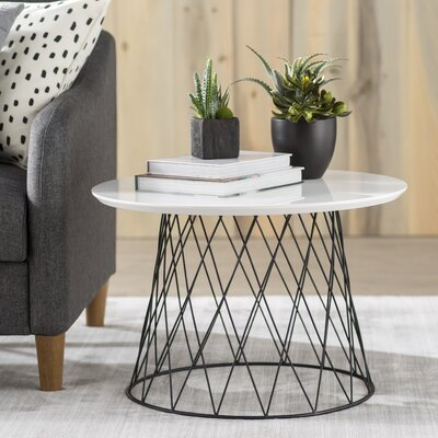 Brickley Coffee Table Color: White