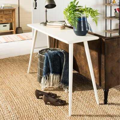 Beem Console Table Color: Distressed White