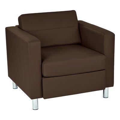 Desma Club Chair Upholstery: Java Antimicrobial Vinyl