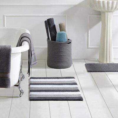 5 Piece Basket Set Color: Grey