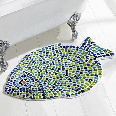 Fish Mosiac Mat