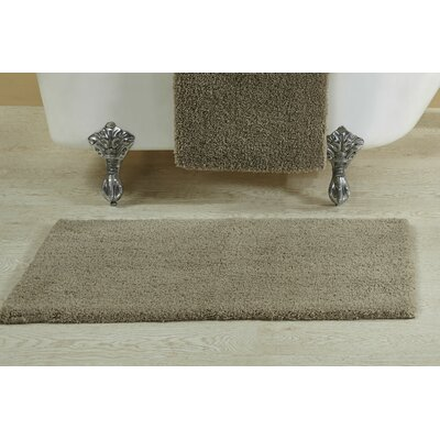 "Berrywood Tufted Bath Rug Size: 17"" W x 24"" L, Color: Beige"