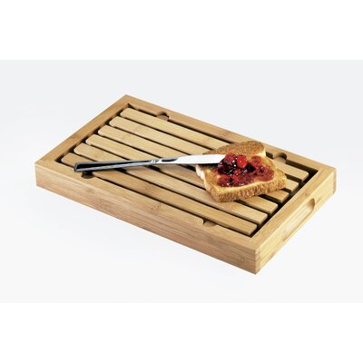 Bamboo Bread Crumb Catcher