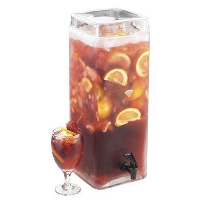 "Infusion Beverage Dispenser Size: 19"" H x 8"" W x 8"" D"