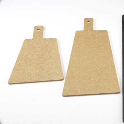 "Tall Bread Board Size: 0.25"" H x 12"" W x 8"" D, Color: Natural"