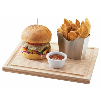 Oak Burger Board