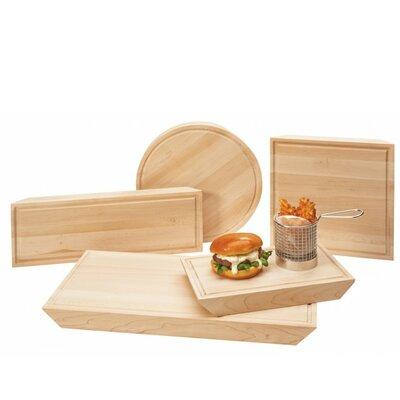 Maple Burger Serving Board (Set of 3)