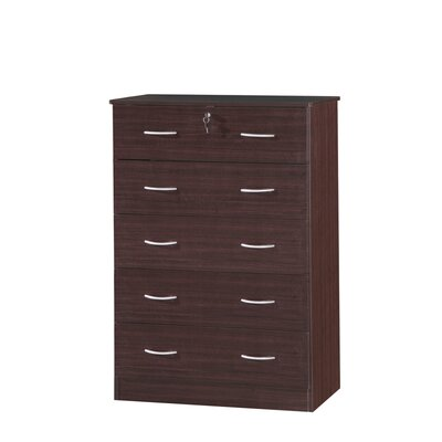 Alba Beds 5 Drawer Chest of Drawers