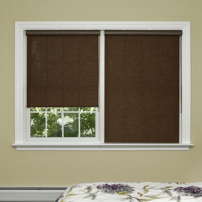 Premium Wood Look Window Roller Shade