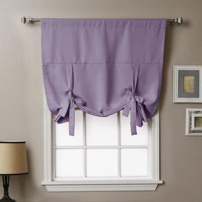 Blackout Tie-up Shade Color: Lavender