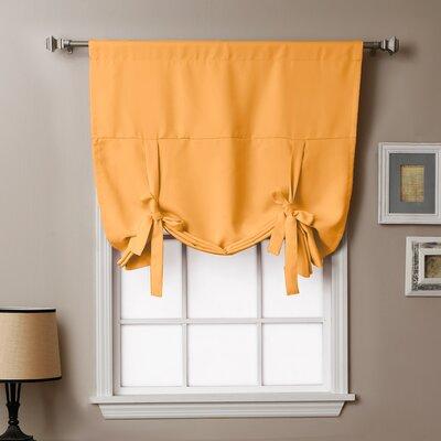 Blackout Tie-up Shade Color: Orange