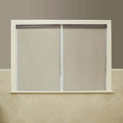 "Premium Blackout Single Roller Shade Size: 24"" W x 64"" L, Color: Taupe"