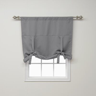 Blackout Tie-up Shade Color: Gray