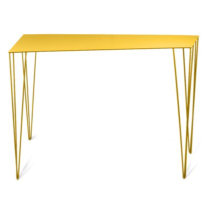 Chele Console Table Color: Honey Yellow