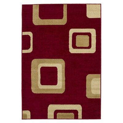 Value by Wayfair Red Weave Rug