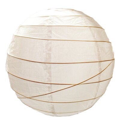 Value by Wayfair Irregular Paper Sphere Lamp Shade