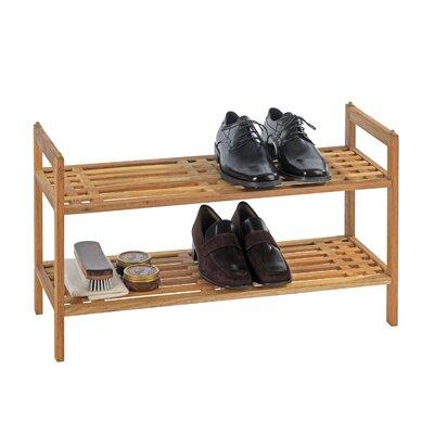 Value by Wayfair 2 Tier Shoe Rack
