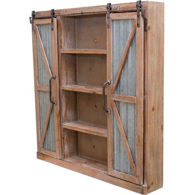 Barn 2 Door Accent Cabinet