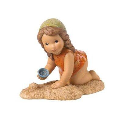 Goebel Figur Sandkuchen backen