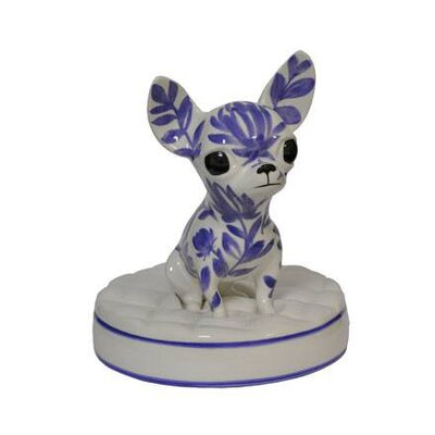 Goebel Figur Chihuahua-Indigo
