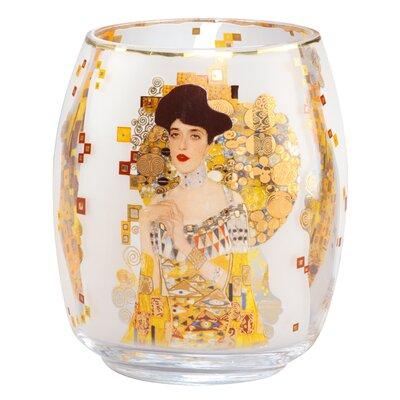 """Goebel Glaswindlicht """"Gustav Klimt - Adele Bloch-Bauer"""""""