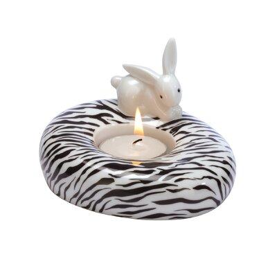 "Goebel Porzellanwindlicht ""Zebra Bunny"""