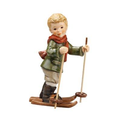 Goebel Figur Ein Wintermärchen-Franz kurz vor der Abfahrt