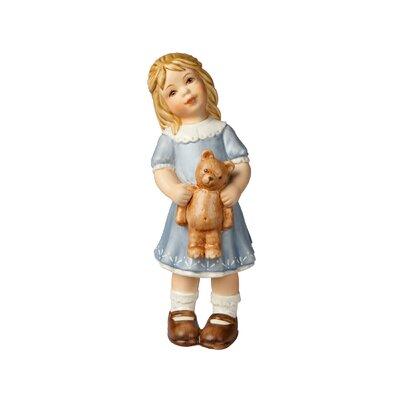 Goebel Figur Ein Wintermärchen-Luise mit Teddy