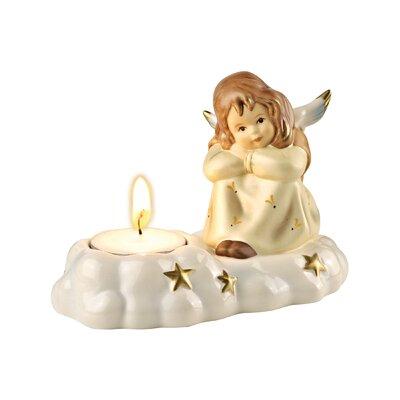 Goebel Dekorationsfigur Engel-Träumerle im Kerzenschein