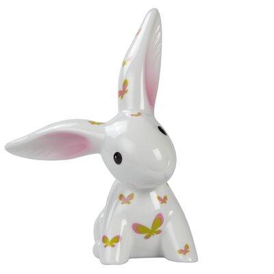 """Goebel 17cm Dekorationsfigur """"Pink Apple Bunny"""""""