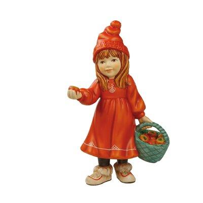 Goebel Figur Britta mit Äpfeln