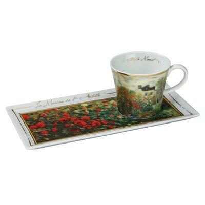 Goebel Kaffeetassen-Set Claude Monet - Das Künstlerhaus