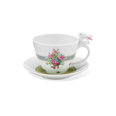 Goebel Tasse Bloom Bunny de luxe