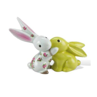 """Goebel Dekorationsfigur Bloom in Love """"Bunny de luxe"""""""
