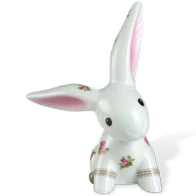 "Goebel Dekorationsfigur Bloom ""Bunny de luxe"""