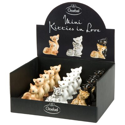 Goebel Figur-Set Kitties