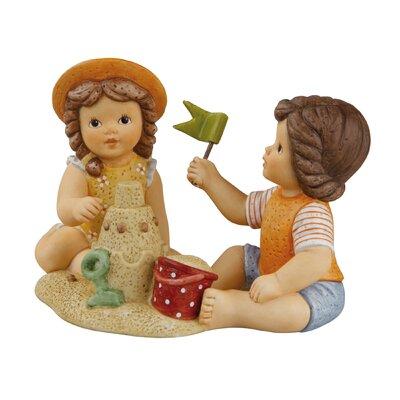 Goebel Figur Unsere schöne Sandburg Wir machen Ferien