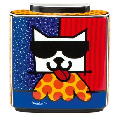 Goebel Vase LA Cat