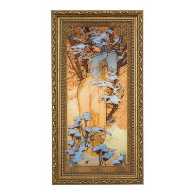 Goebel Gerahmtes Grafikdruck von Alphonse Mucha