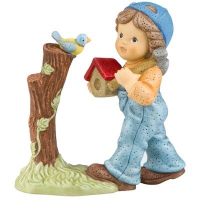 Goebel Figur Ein kleines Heim für Dich Im Garten