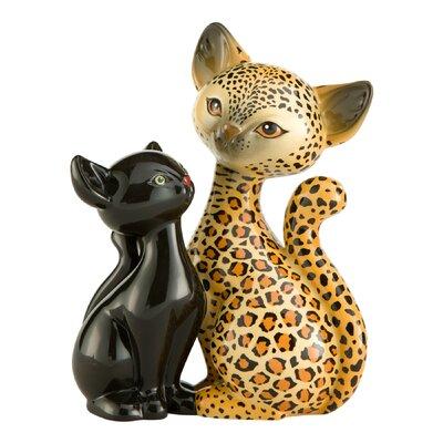 Goebel Figur Leopard Kitty in Love Animal Kitties