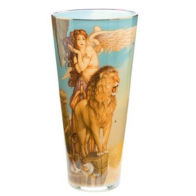 Goebel Vase Lions Return